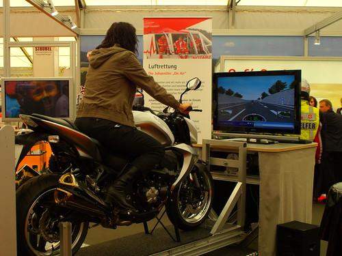 Simulator für Motorräder