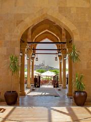 Al Azhar Park, Cairo (sdhaddow) Tags: architecture doors minaret muslim egypt cairo hdr islamic photomatix