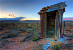 Unspoken journeys (Dave Arnold Photo) Tags: ranch arizona usa abandoned vintage fence us photo route66 ruins desert image farm ruin picture toilet az pic images ruina photograph abandon american vacant getty outhouse seligman ariz abandonedbuilding davearnold rte66 seligmanaz greatimage canonequipment canonphotographer davearnoldphotocom arnoldd