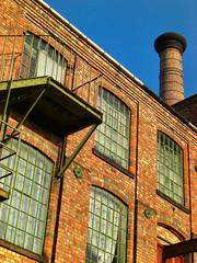 Bridge Mills, Long Eaton, Derbyshire (Lady Wulfrun) Tags: chimney mill factory derbyshire mills edwardian longeaton toton derbyroad bridgemills