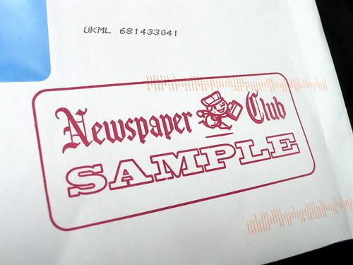 newspaperclub sample stamp