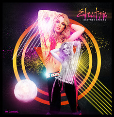 Electric [ Britney Spears - By Mr. JunkieXL ] (Mr.JunkieXL) Tags: new pink moon green textura yellow electric by circle lights crazy spears next made britney blend puntos andthen livinglegend mrjunkiexl wekiss