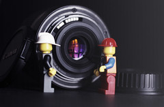 Take a look!! (MJ ♛) Tags: look canon lens toy toys eos 50mm lego creative take majid ef 2010 alahmadi 40d