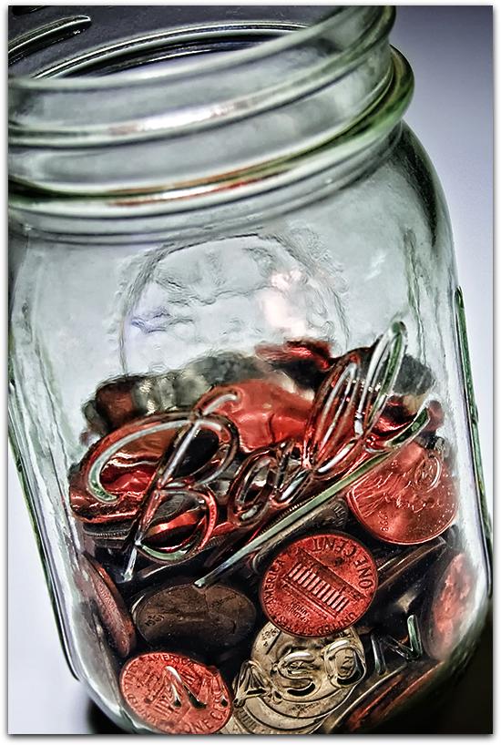 jar of change