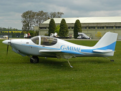 G-MIME (QSY on-route) Tags: kemble egbp gvfwe greatvintageflyingweekend 09052010 gmime