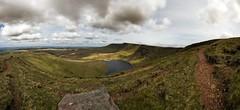 Llyn y fan (Sean Bolton (no longer active)) Tags: panorama lake nature rock wales landscape cymru glacier erosion gliacial llynyfan