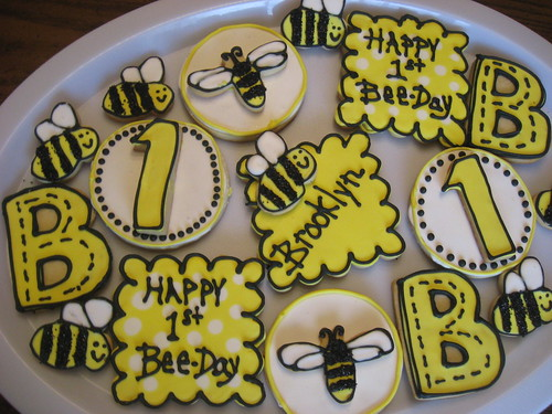 Beeday cookies
