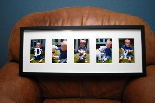 Father's Day Framed Photo Collage
