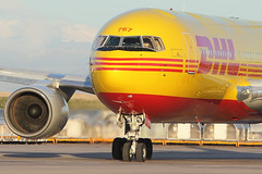 ABX at DEN for DHL (dbcnwa) Tags: usa yellow plane canon airplane nose flying airport colorado power aircraft den jet engine dia denverinternationalairport denver airline heat jetengine boeing heavy turbine airliner exhaust 767 freighter dhl widebody thrust kden abex boeing767 aeronautical airborneexpress canon70200mmf28l turbofan 762 767200 abx airfreight aircargo canonef70200mmf28lisusm abxair cf6 767281 cargoramp 767f 767200f canoneos5dmarkii 762f n767ax 767281f abxair767 767ax