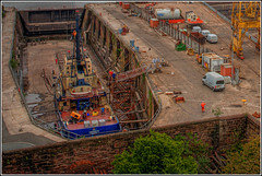 Oakgarth (mobilevirgin) Tags: liverpool canon birkenhead 5d tug shipping hdr 200mm rivermersey oakgarth