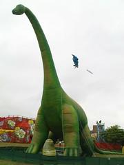 進來看到的第一支恐龍