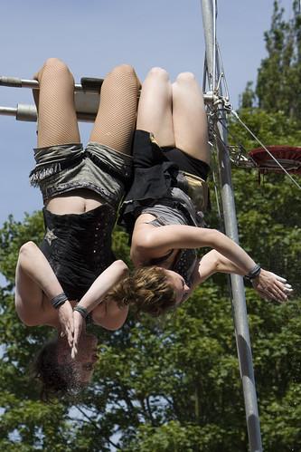 Duo Polinde op CircusBruul
