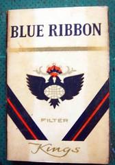 DSC09650 (tengds) Tags: vintage matchbox blueribbon tengds smallcigarettebox
