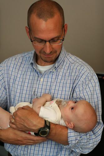 With Godfather David