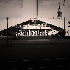 Base of the Fernsehturm, Berlin