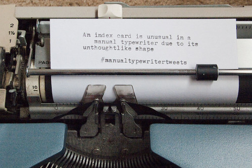 Manual Typewriter Tweets 01