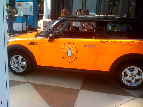Penguin car at BEA