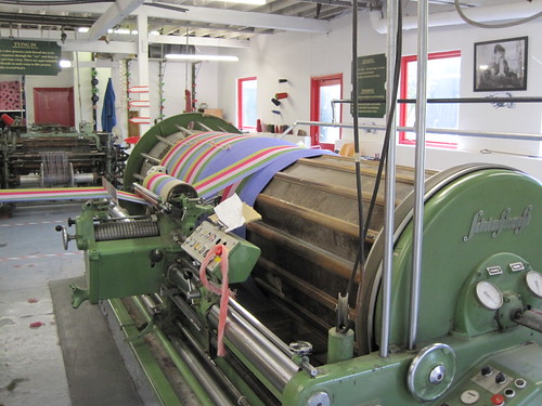 Weaving mill at Avoca