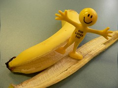 banana peel on 26 May 2010 - day 146 by Leonard John Matthews, on Flickr