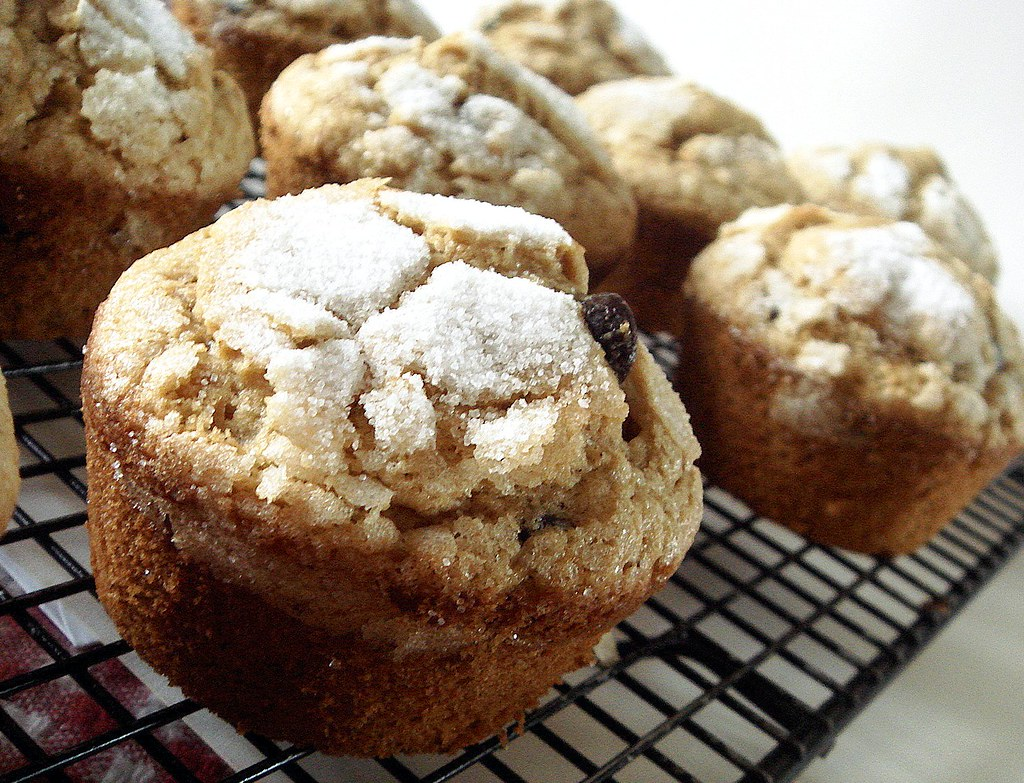 william shatner's cappuccino muffins