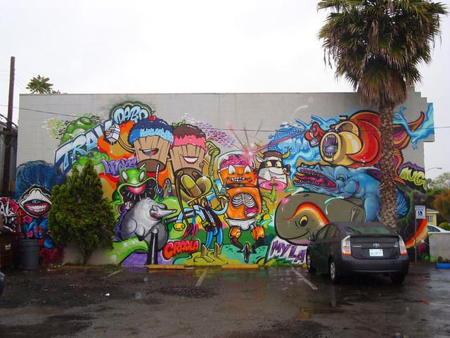 Character wall