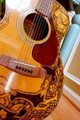 The Second Sharpie Guitar