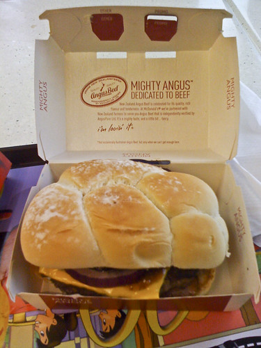 McDonalds Mighty Angus