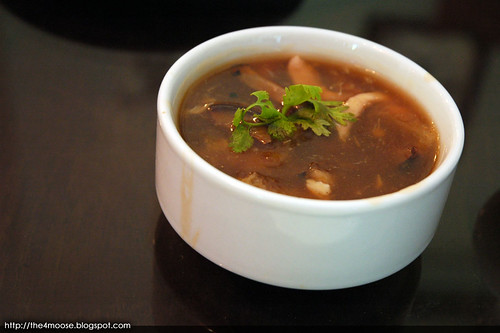 Bumbu Restaurant - Fish Maw Crabmeat Soup