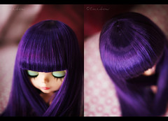 her hair from top view for snoopygirl
