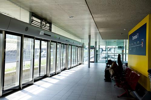 At the CDVGAL terminal