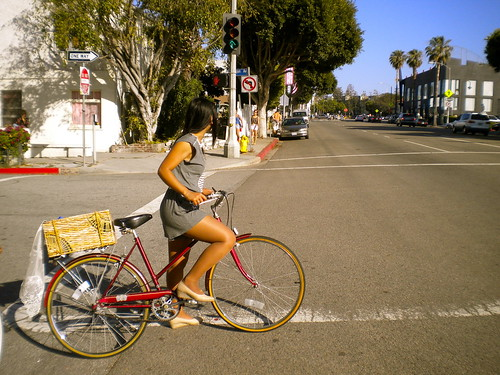 Cycle Chic Sunday! Santa Monica