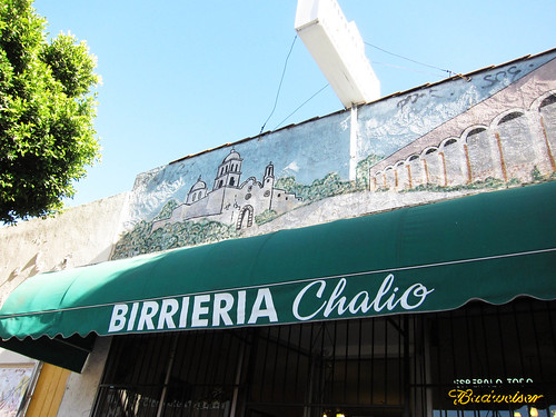 East LA Foodie C'Rave aka Crawl:  Birrieria Chalio