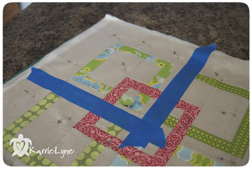 Tip #5 Straight Line Quilting