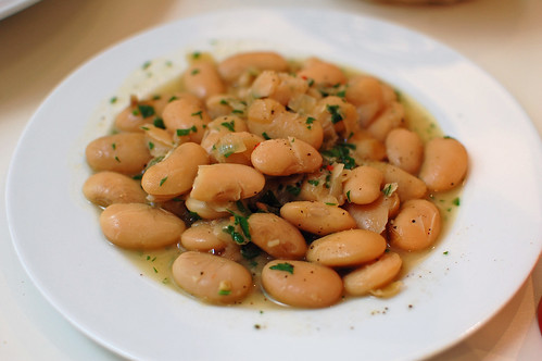 Braised Butter Beans with Parsley and Chilli
