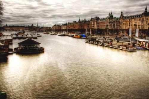 Stockholm. Strandvägen. Estolmo