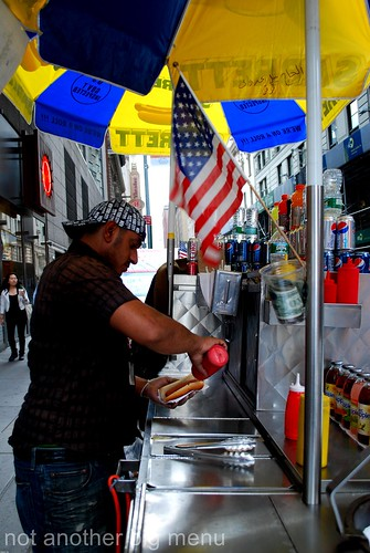New York - Hot dog vendor