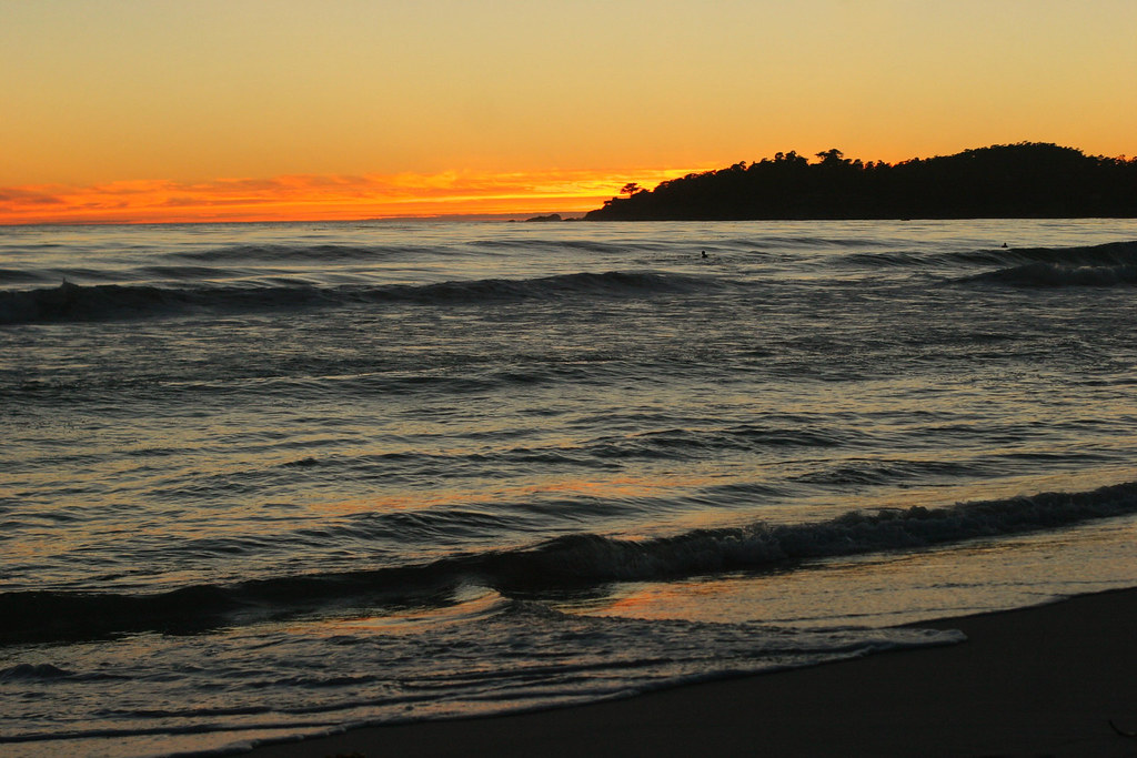 Carmel Beach Sunset #4