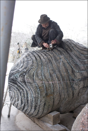 Peter Randall Page at work 2009