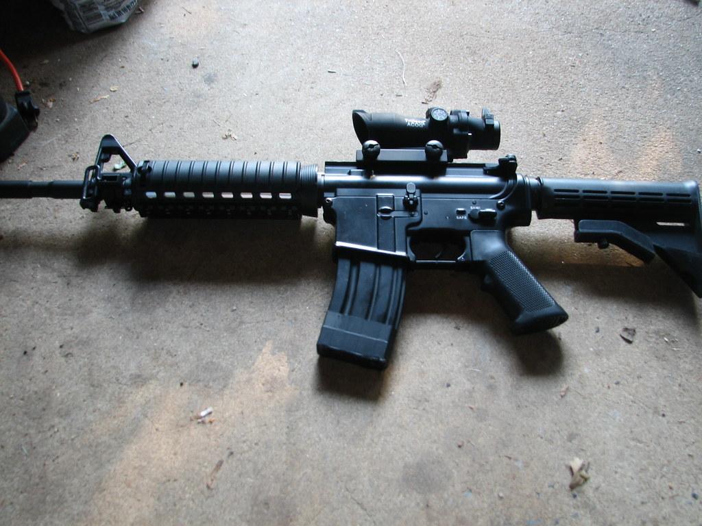 ACOG FOR AIRSOFT M16 Acog