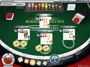 Blackjack Multi-Mains