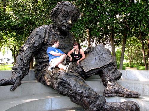 Us with Einstein