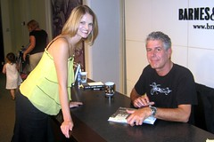 At last... meeting Bourdain