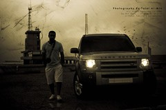 (Talal Al-Mtn) Tags: blue hp automobile shot automotive rover land v8 lr 2010 q8 hst lr3 lrr 450d lm10 almtn talalalmtn  bytalalalmtn
