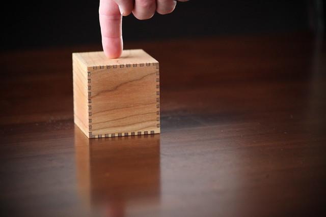lasercut cube