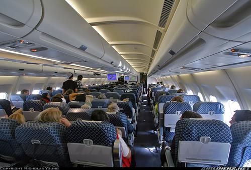 Aerolineas Argentinas A340-200 Cabin