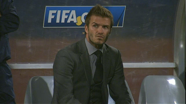 David Beckham face USA GOAL to England