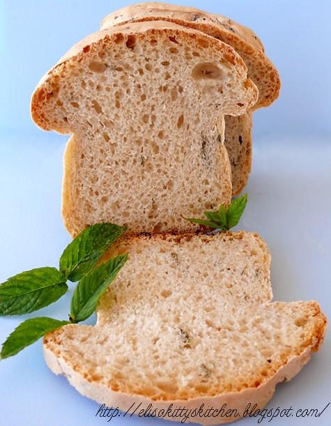 Pane bianco alla menta