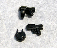 Halo Maulers (Jackbrick101) Tags: 2 two 3 magazine one 1 three gun shot lego drum chief alien halo master chef round dual mag magnum 41 covenant mauler wield arbiter maulers ppsh brickarms ppsh41