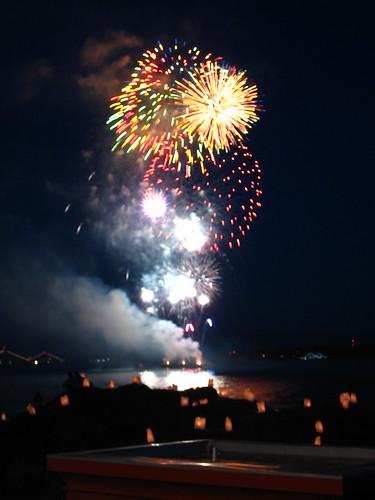 Fort Rodd Fireworks VIII