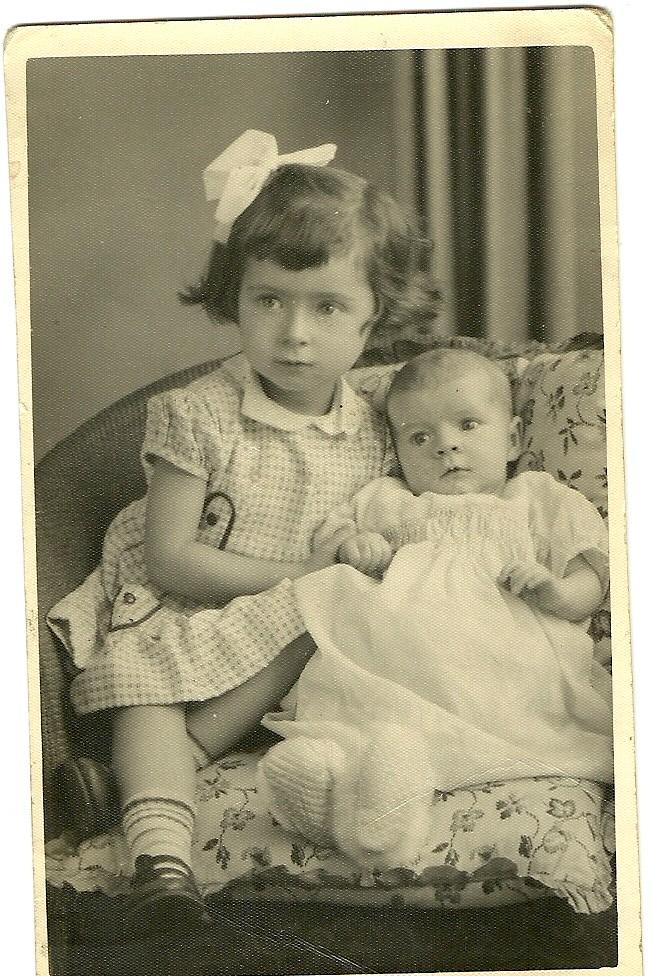Eileen and Bernadette corr 1955